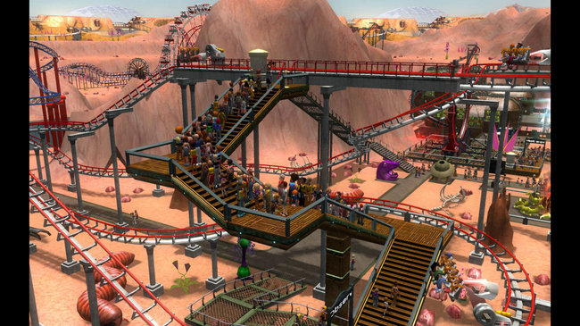 Télécharger Rollercoaster Tycoon 3
