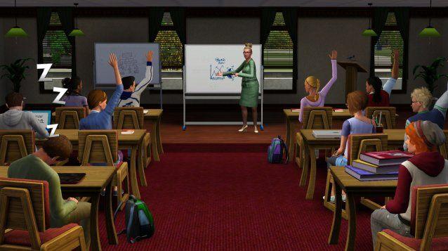 Jouez aux étudiants avec Sims 3 University