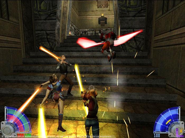 Devenir un jedi dans Star Wars Jedi Knight : Jedi Academy