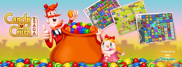 Jouer à Candy Crush Saga et télécharger gratuitement l'application
