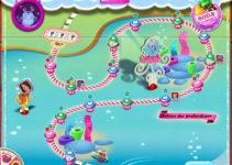 Carte de Candy Crush Saga, nouvel univers